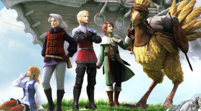 Imagen de Final Fantasy III se actualiza en PC y móviles con nuevas opciones y mejoras