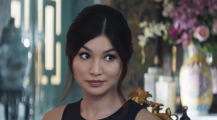 Imagen de Los Eternos: así celebra Gemma Chan el fin de rodaje de la película