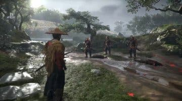 Imagen de Así de espectacular luce Ghost of Tsushima recreado en Dreams