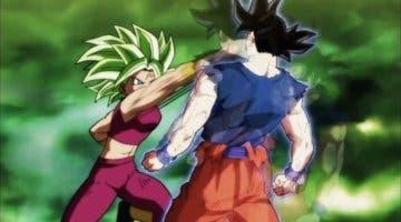 Imagen de Dragon Ball FighterZ: Kefla y Goku ultra instinto podrían tener final dramático
