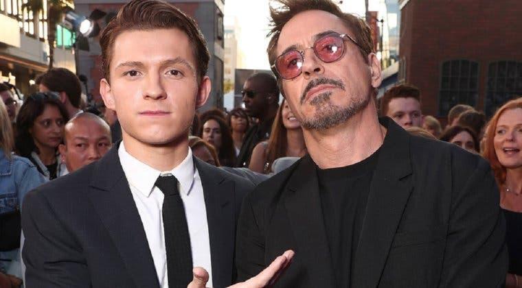 Imagen de Así sería Regreso al futuro con Tom Holland y Robert Downey Jr