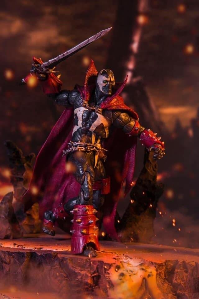 Imagen de Así es la figura de Spawn para celebrar su llegada a Mortal Kombat 11
