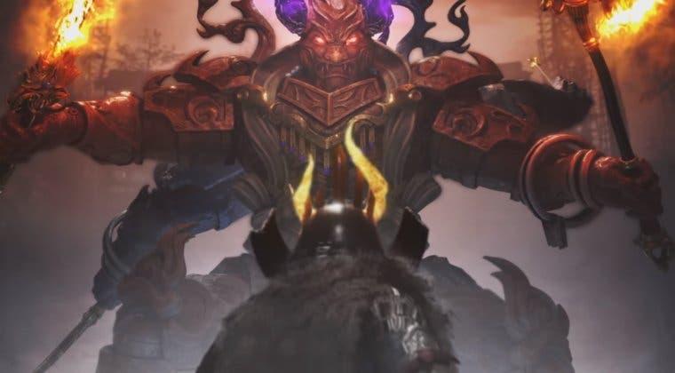 Imagen de Nioh 2 muestra sus nuevas armas y algunos enemigos en un gameplay