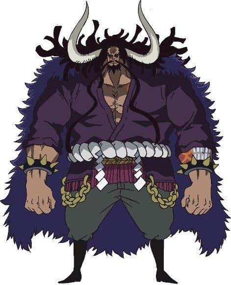 Imagen de One Piece revela un dato muy curioso sobre el cuerpo de Kaido