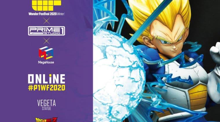 Imagen de Dragon Ball: Prime 1 presenta su espectacular figura de Vegeta