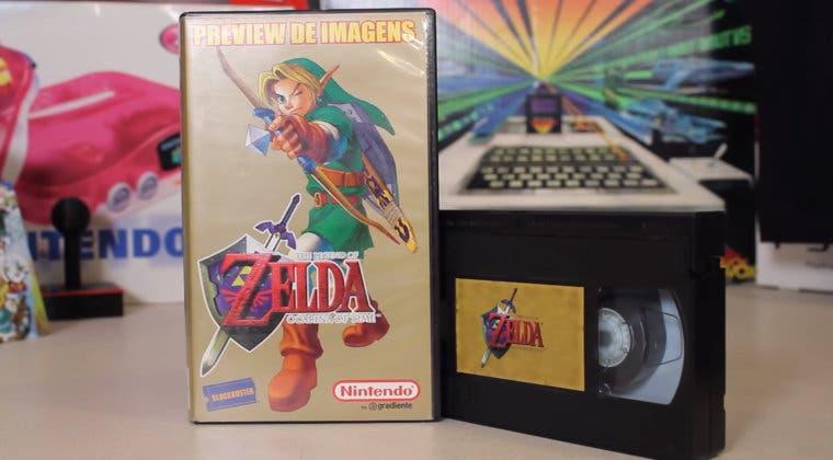 Imagen de Un VHS muestra contenidos inéditos de la beta de The Legend of Zelda: Ocarina of Time
