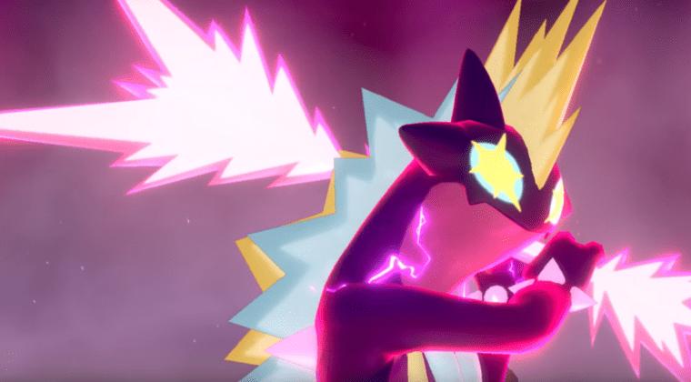 Imagen de Toxtricity Gigamax se estrenará en las incursiones de Pokémon Espada y Escudo