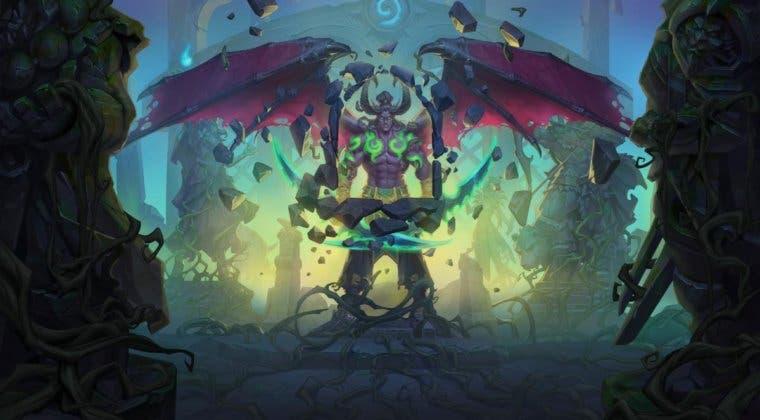 Imagen de Llega a Hearthstone la nueva expansión Cenizas de Terrallande y la clase Cazador de Demonios
