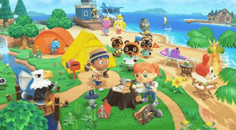 Imagen de Animal Crossing: New Horizons se muestra en 20 minutos de gameplay