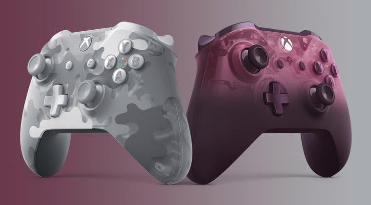 Imagen de Microsoft presenta dos nuevos mandos con colores especiales