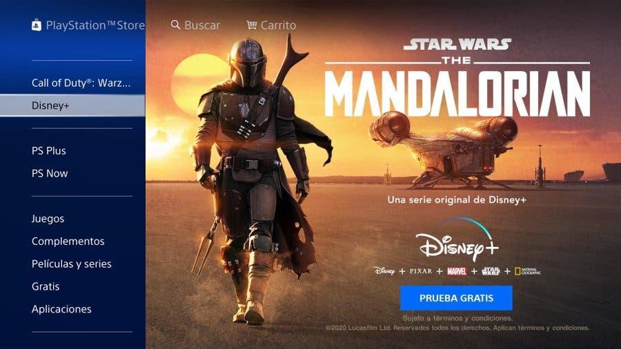 Disney Plus PS4