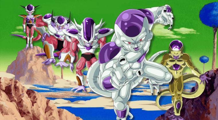Imagen de Las 17 transformaciones de Freezer en Dragon Ball