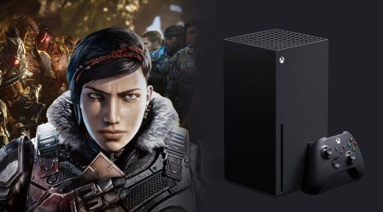 Imagen de Así luce Gears 5 en Xbox Series X en su primer gameplay