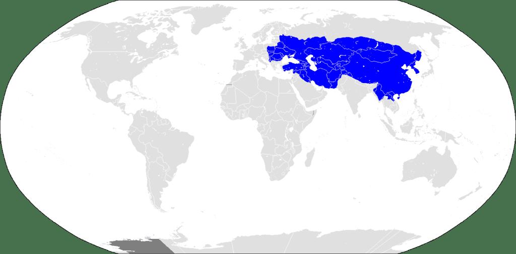 Así era el Imperio de Kublai Kan