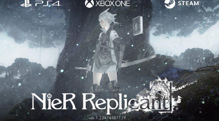 Imagen de Filtrada la portada de NieR: Replicant ver.1.22474487139... para PS4