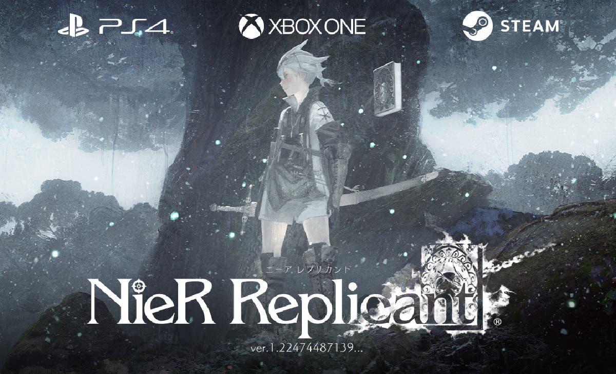 Filtrada la portada de NieR: Replicant ver.1.22474487139... para PS4