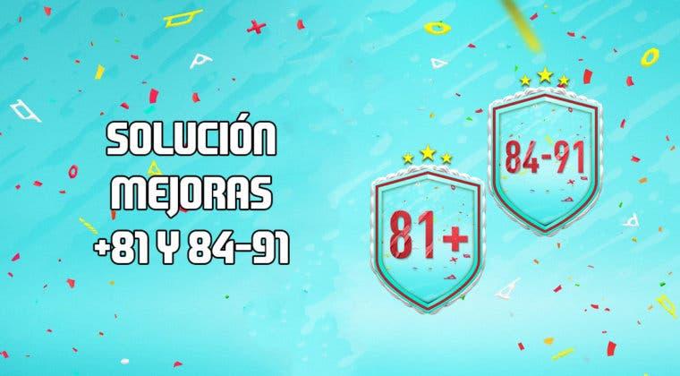 Imagen de FIFA 20: Soluciones para las mejoras +81 y 84-91