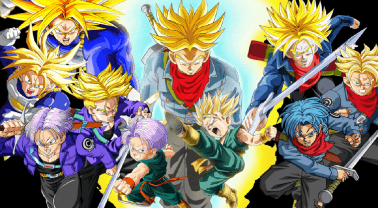 Imagen de Las 23 transformaciones de Trunks en Dragon Ball