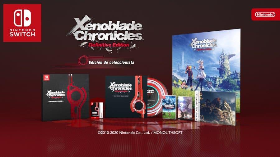 Imagen de Fecha de Xenoblade Chronicles Definitive Edition para Nintendo Switch, que llega con historia adicional
