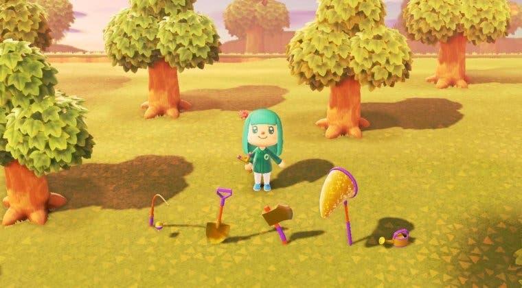 Imagen de Animal Crossing: New Horizons - Cómo conseguir las mejores herramientas (doradas)