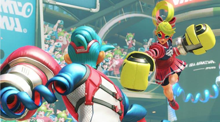 Imagen de Juega gratis a ARMS en Nintendo Switch desde hoy mismo