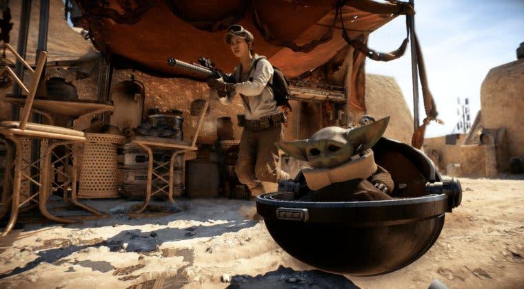 Imagen de Baby Yoda llega a Star Wars Battlefront 2 gracias a este curioso mod