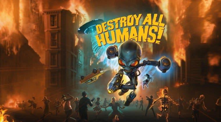 Imagen de THQ anuncia el remake del primer Destroy All Humans! para PC y consolas