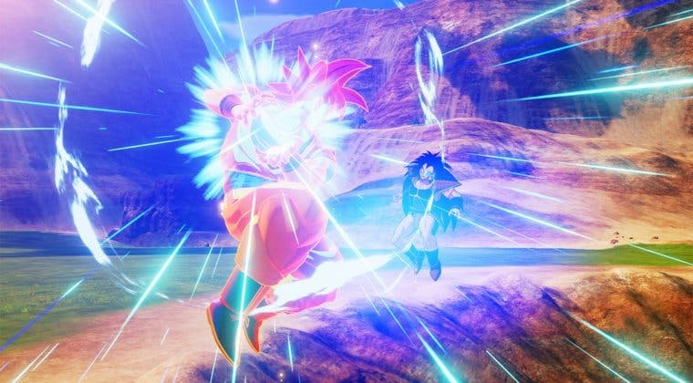 Imagen de Dragon Ball Z: Kakarot | Gameplay del DLC con Goku Super Saiyan God y Beerus