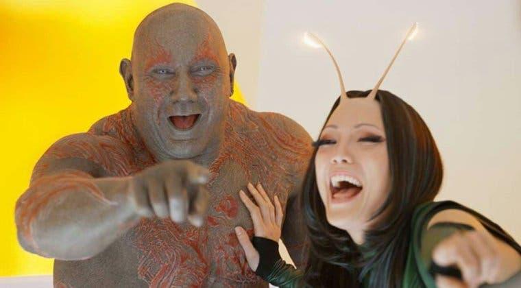 Imagen de Guardianes de la Galaxia Vol. 3: Dave Bautista adelanta un posible spin off con Drax y Mantis