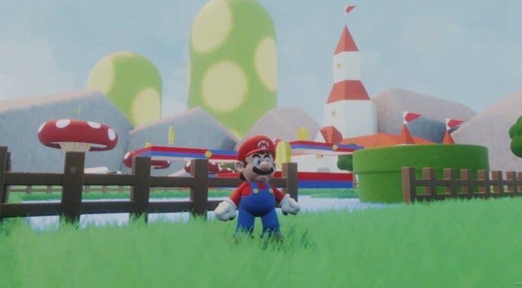 Imagen de Dreams elimina el modelo de Super Mario a petición de Nintendo