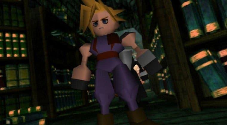 Imagen de Final Fantasy VII sitúa a la venta figuras poligonales de sus personajes
