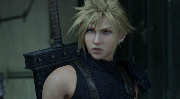 Imagen de Final Fantasy VII Remake luce una comparación respecto al original