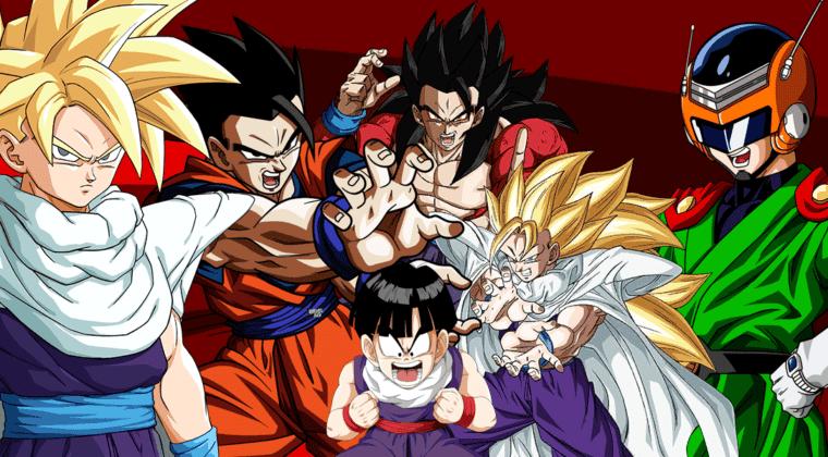 Imagen de Las 13 transformaciones de Gohan en Dragon Ball