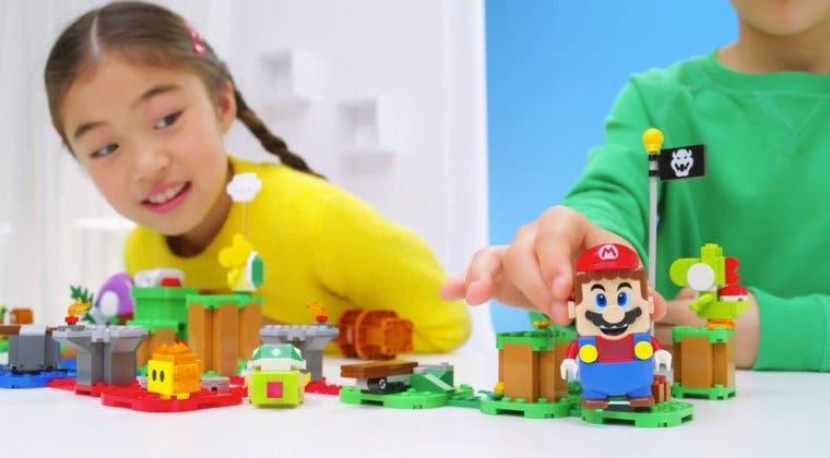 Imagen de Así surgió la idea de LEGO Super Mario, el producto que triunfará entre los más jóvenes