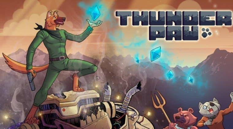 Imagen de Thunder Paw se luce en su tráiler de lanzamiento en Switch