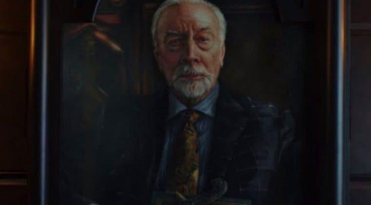 Imagen de Puñales por la Espalda: descubren un detalle oculto en el retrato de Cristopher Plummer