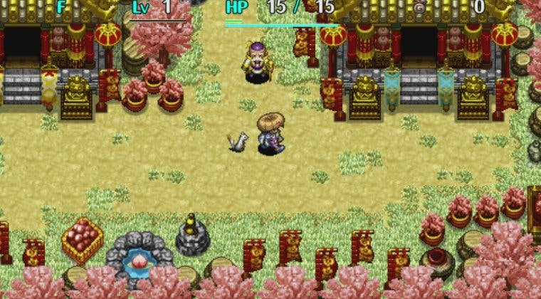 Imagen de Anunciado Shiren the Wanderer: The Tower of Fortune and the Dice of Fate Plus para Switch