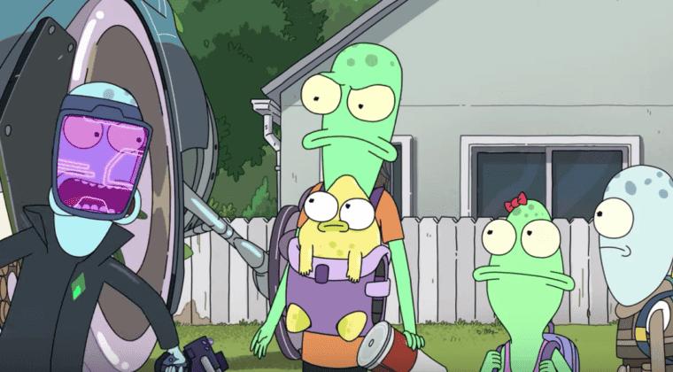 Imagen de Solar Opposites: tráiler de la nueva serie del creador de Rick y Morty