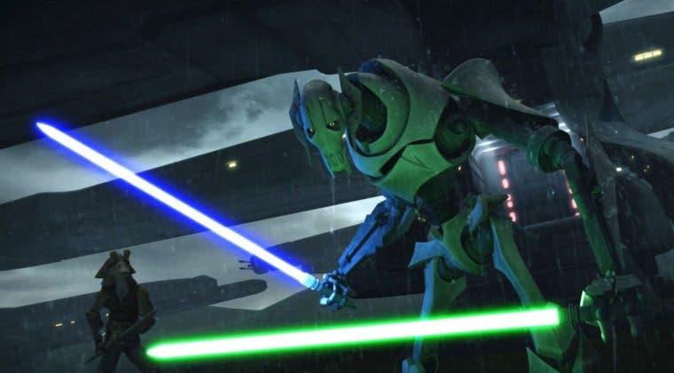 Imagen de Star Wars: The Clone Wars - ¿Por qué Grievous no utiliza un sable rojo?