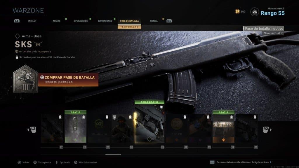 SKS - Warzone