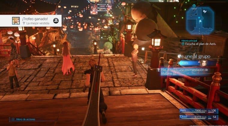 Imagen de Guía para conseguir el Trofeo La mejor vestida en Final Fantasy VII: Remake