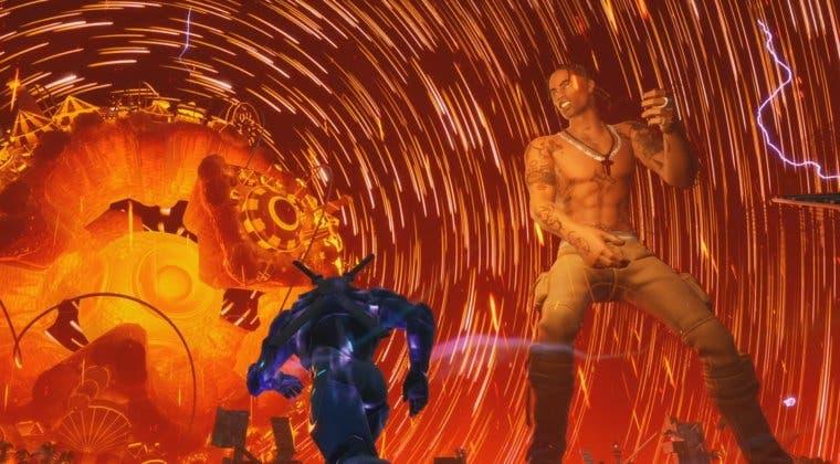 Imagen de Así fue el increíble concierto de Travis Scott en Fortnite