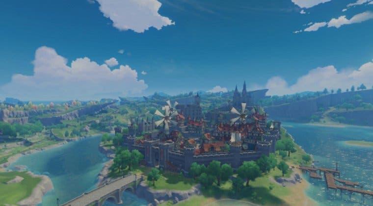Imagen de Genshin Impact ofrece detalles de sus principales localizaciones y nuevo tráiler de personaje