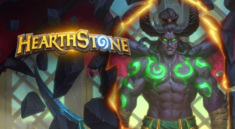 Imagen de La clase Cazador de Demonios de Hearthstone sufre un 'nerfeo'