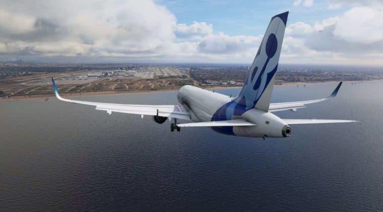 Imagen de Microsoft Flight Simulator nos muestra el proceso de despegue y aterrizaje en un nuevo vídeo