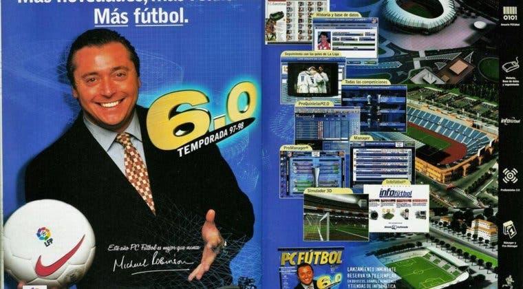 Imagen de Michael Robinson y PC Fútbol, su legado en la historia de los videojuegos en España