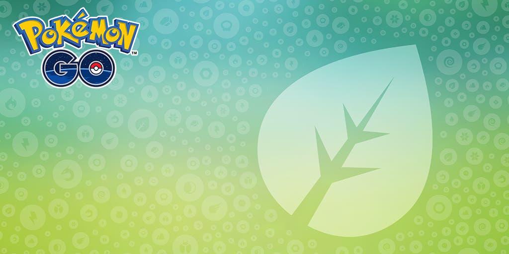 Pokémon GO tipo planta