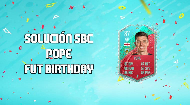 Imagen de FIFA 20: Solución al SBC de Nick Pope FUT Birthday