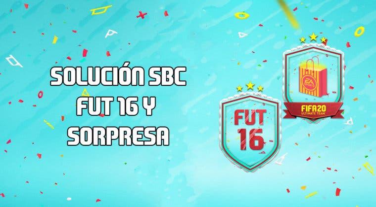 Imagen de FIFA 20: Solución a los SBC's 'FUT 16' y 'Sorpresa del Aniversario de FUT'