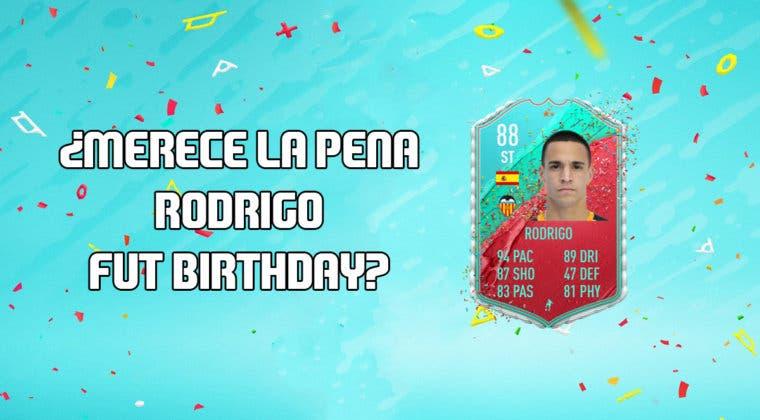Imagen de FIFA 20: ¿Merece la pena Rodrigo Moreno FUT Birthday? + Solución de su SBC